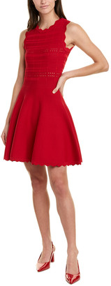 Yigal Azrouel Scarlet A-Line Dress