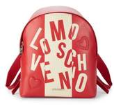 Love Moschino Color-Block Logo Backpack