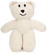 Il Borgo Knit Cashmere BG Teddy Bear, Ivory