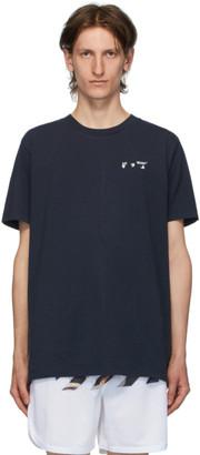 Off-White Navy New Logo T-Shirt