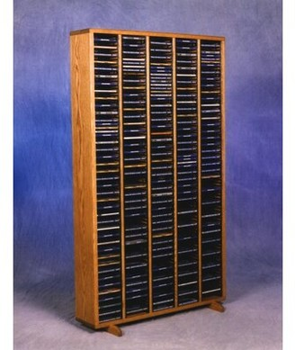 Christian Dior Rebrilliant 400 Multimedia Storage Rack Rebrilliant Color: Natural