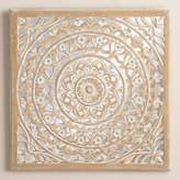 World Market Carved Mirrored Leela Wall Plaque