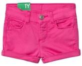 Benetton Fuschia Pink Cotton Shorts