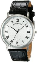 Stuhrling Original Men's 645.01 Classique Analog Display Swiss Quartz Black Watch