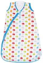 JJ Cole Wearable Blanket, Primary Elephants, 0-6 Months