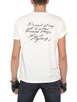 Karl Lagerfeld Printed Back Jersey T-Shirt