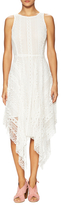 Rebecca Minkoff Chief Lace Asymmetrical Dress