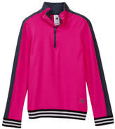 New Balance Long Sleeve 1/4 Zip Performance Top (Big Girls)