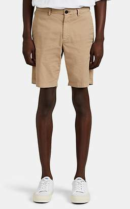 Theory Men's Zaine Cotton Shorts - Brown