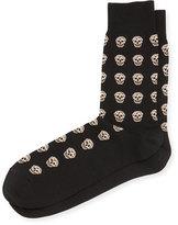 Alexander McQueen Skull Knit Short Socks