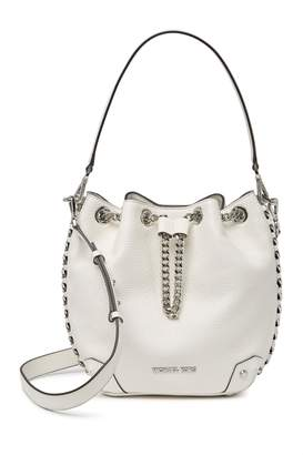 MICHAEL Michael Kors Alanis Medium Leather Bucket Bag