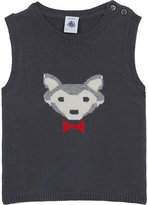 Petit Bateau Wolf knitted cotton tank top 3-36 months