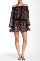 Norma Kamali Peasant Dress Cover-Up