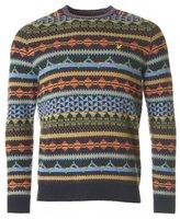 Lyle & Scott Vintage Fairisle Crew Neck Knit