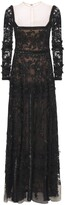 Thumbnail for your product : ZUHAIR MURAD Embellished Passiflora Long Dress