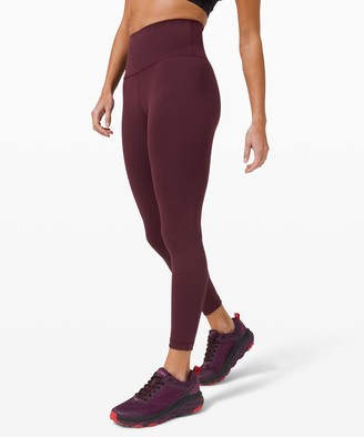 Lululemon Wunder Train High-Rise Tight 25""
