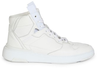 Givenchy Wing Leather High-Top Sneakers