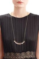 Alexis Bittar Colorblocked Crescent Bib Necklace