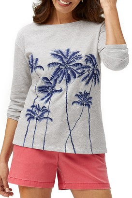 Tommy Bahama Palm Vale Embroidered Sweatshirt