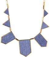 House Of Harlow Blue Star Five Station Necklace (Yellow Gold) - Jewelry