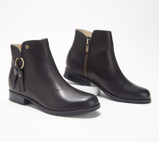 Spenco Orthotic Leather Ankle Boots - Abbey