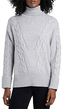 Vince Camuto Cable Stitch Turtleneck Sweater
