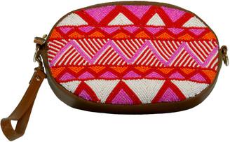 Aspiga Pink Mariana Zig Zag Belt Bag