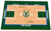 Milwaukee Bucks Replica Basketball Court Foam Puzzle Floor