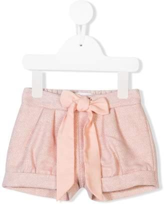 Chloé Kids drawstring waist shorts