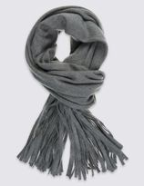 Marks and Spencer Long Tassel Scarf