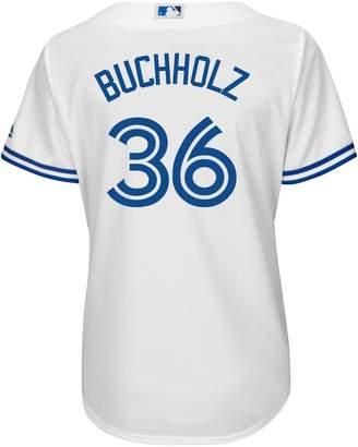 Majestic Clay Buchholz Toronto Blue Jays MLB Jersey Top