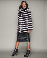 The Fur Vault Rabbit Fur Jacket