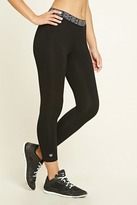 Forever 21 Active Graphic Capri Leggings