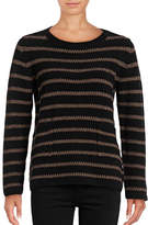 Weekend Max Mara Antiope Metallic Stripe Sweater