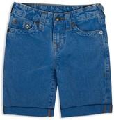 True Religion Boys' Geno Jean Shorts