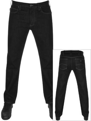 Giorgio Armani Emporio J21 Regular Fit Jeans Black