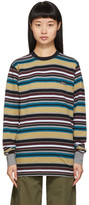 Noah NYC Multicolor Stripe Long Sleeve T-Shirt