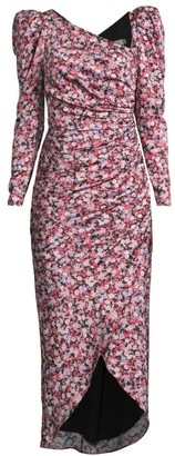 Fame & Partners The Isla Puff-Sleeve Dress