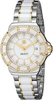 Tag Heuer Women's WAH1221.BB0865 Formula 1 Two-Tone Bracelet Watch with Ceramic and Diamonds