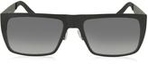 Marc Jacobs MARC 55/S 003HD Black Acetate Rectangular Men's Sunglasses