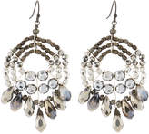 Nakamol Mixed Crystal Bead Chandelier Earrings