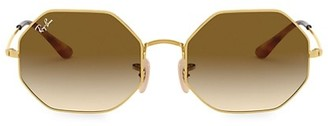 Ray-Ban RB1972 54MM Octagonal Metal Sunglasses