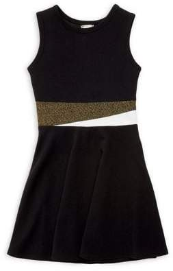 Sally Miller Girl's Fit-&-Flare Sleeveless Dress