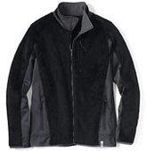 Classic Men's Polartec High Pile Fleece Jacket-Pewter