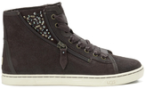 UGG Women's Blaney Crystals HiTop Trainers - Chocolate