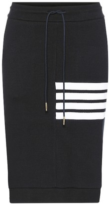 Thom Browne Cotton midi skirt