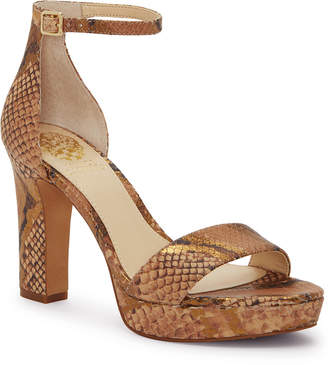 Vince Camuto Sathina Leather Sandal