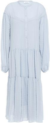 Samsoe & Samsoe Samse Samse Rhonda Gathered Crinkled-crepe Midi Dress