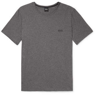 HUGO BOSS Logo-Embroidered Stretch Cotton-Jersey T-Shirt