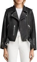 AllSaints Vintage Balfern Leather Moto Jacket